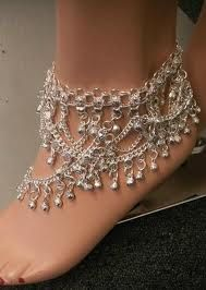 Yes, we will have foot jewelry TANNED FEET WILL SURE TO SHOW CASE THIS