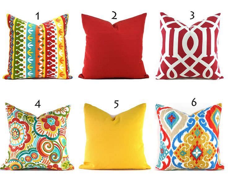 Yellow Outdoor Pillows ANY SIZE Outdoor Cushions Outdoor Pillow Covers Decorative Pillows ...