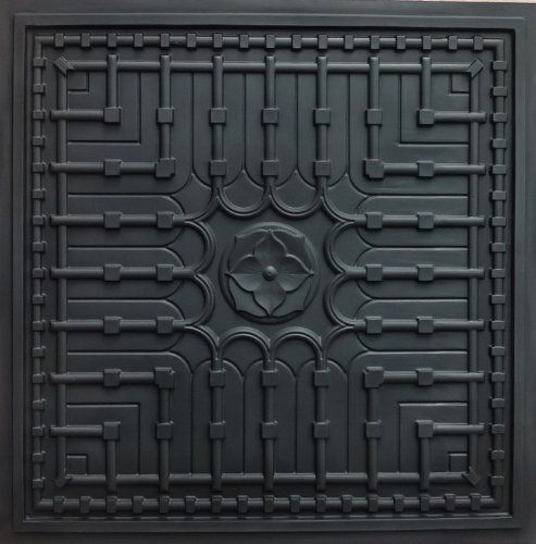 Suspended Ceiling 301 Faux Black Modern Ceiling Tiles PVC for Drop in and Glue Up >>> You can get more details by clicking on the image.
