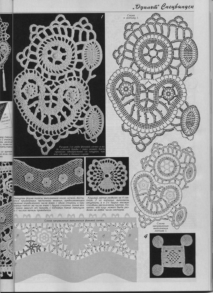 Best 1142 Irische Häkelei / irish crochet ideas on Pinterest ...