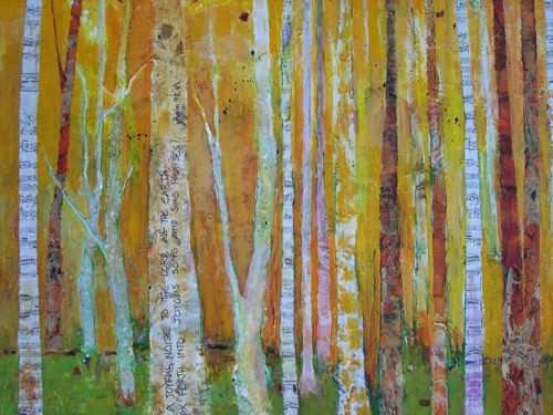 Amy Whitehouse Paintings: Trees Will Clap Their Hands ...