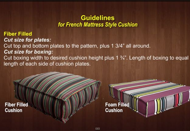 How-to-Make-a-French-Mattress-Style-Cushion-1.2   DIY Projects & Crafts by DIY JOY at http://diyjoy.com/diy-furniture-outdoor-cushion-covers