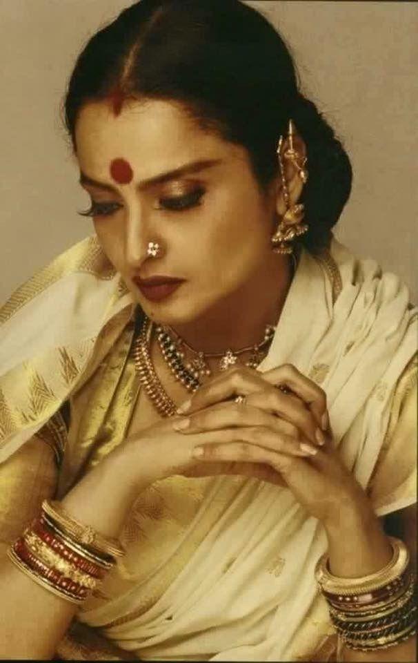 The Ever Golden  Rekha ...