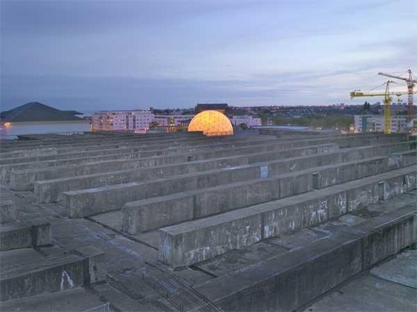 SNA - Alvéole 14  LIN Finn Geipel + Giulia Andi Architectes / Saint-Nazaire  Transformation de la Base sous-marine