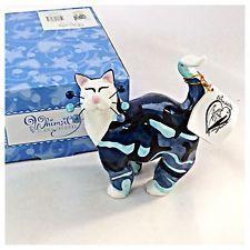 Трудно найти ЭМИ лакомб whimsiclay 86067 G.I. франк в США темно-синий камуфляжный принт кошка