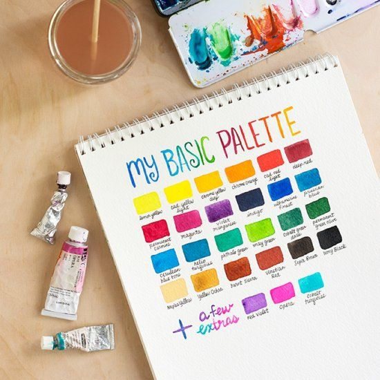Curious to try watercolor for the first time learn more for Watercolor supplies for beginners