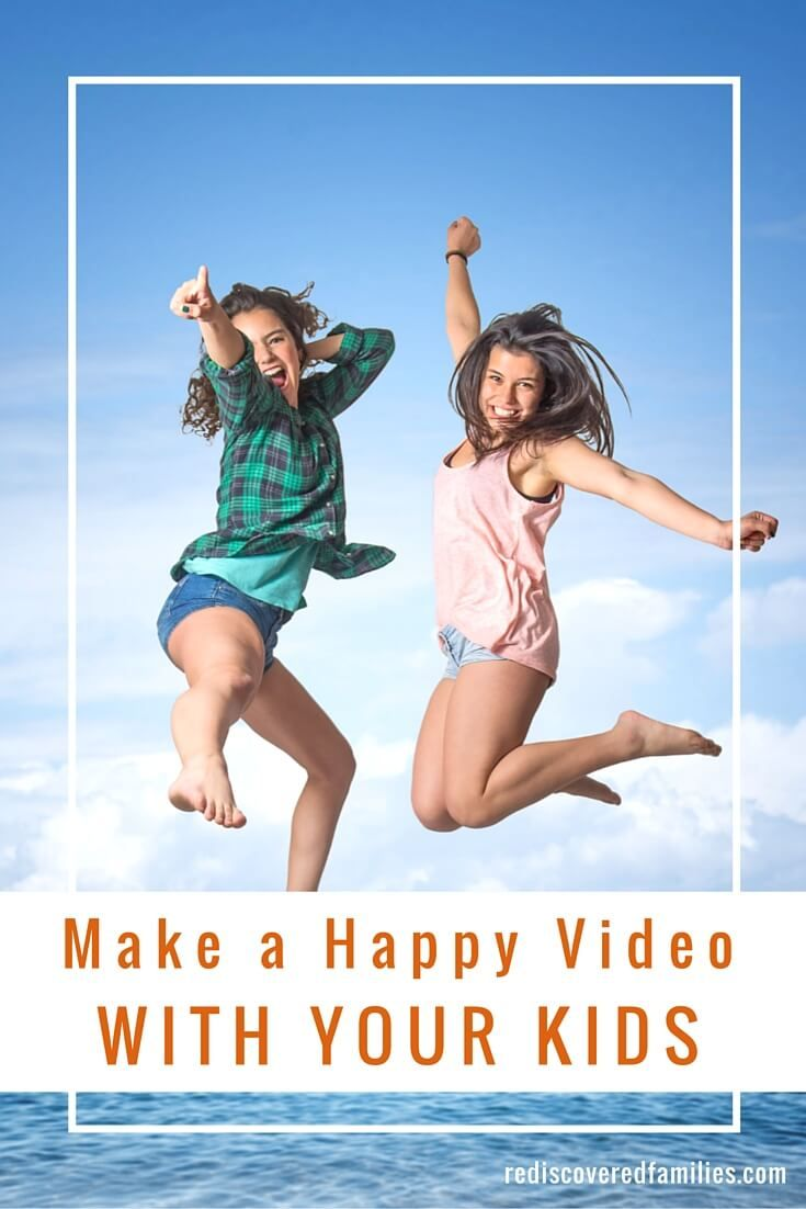 """Have you seen the """"Happy"""" dance videos on Youtube? People all over the world are dancing it out in joyful videos from Paris to Hong Kong. Why not gather your kids and make a video of your own? Are you ready to get your happy on?"""