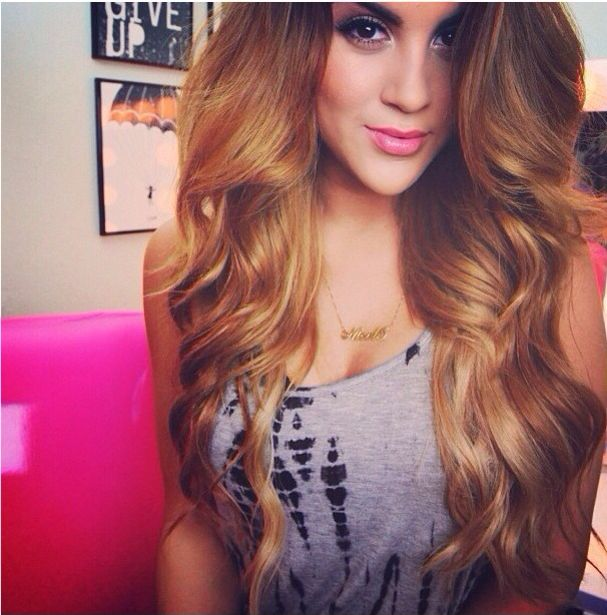 17 best bellami hair styles images on pinterest gorgeous hair nicole guerierros bellami hair extensions in light chestnut brown pmusecretfo Choice Image