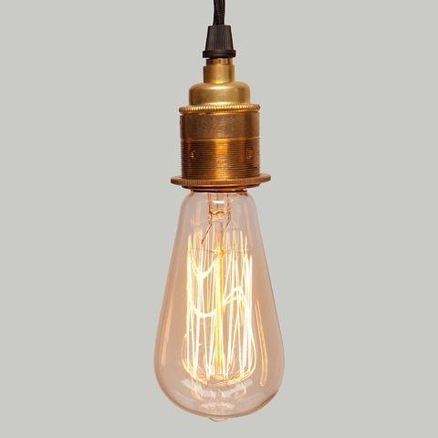 Lampa wisząca Brass