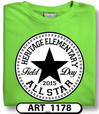 black and white field day designs are perfect if you want a different shirt color for