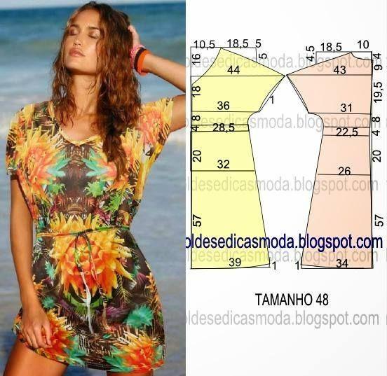 http://moldesedicasmoda.blogspot.pt/2014/12/vestido-facil-de-fazer-42.html