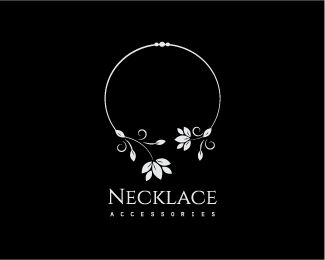 Necklace Leaves Jewelry Logo design - This logo is perfect for jewelry shop, accessories store, online store, Jewelry manufacturer, Jewelry Suppliers, jewelry designer, jewelry store, boutique, gifts shop, floral shop ,landscaper, natural healing ,non-profit organization, floral designer, garden center, wedding planner, Fashion, crafts woman, art store, crafts fair, trade jewelry, counseling, event planner, interior design, home staging, clothing store, tree care companies, botanical , ...
