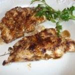 petto di pollo alla griglia all'aceto balsamico