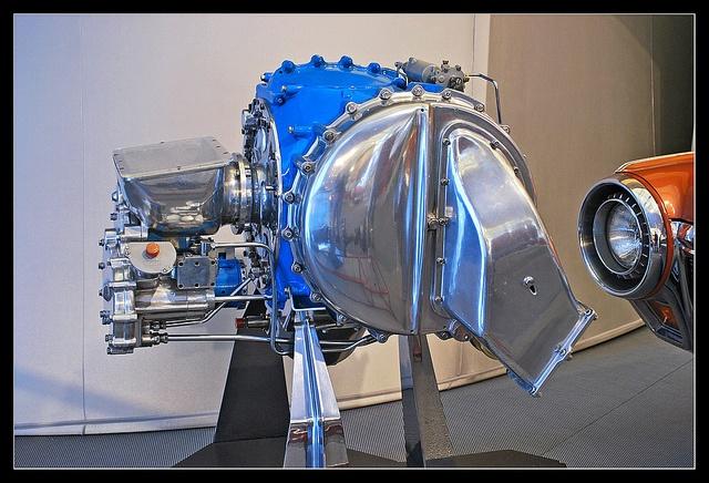 1963 Chrysler turbine engine