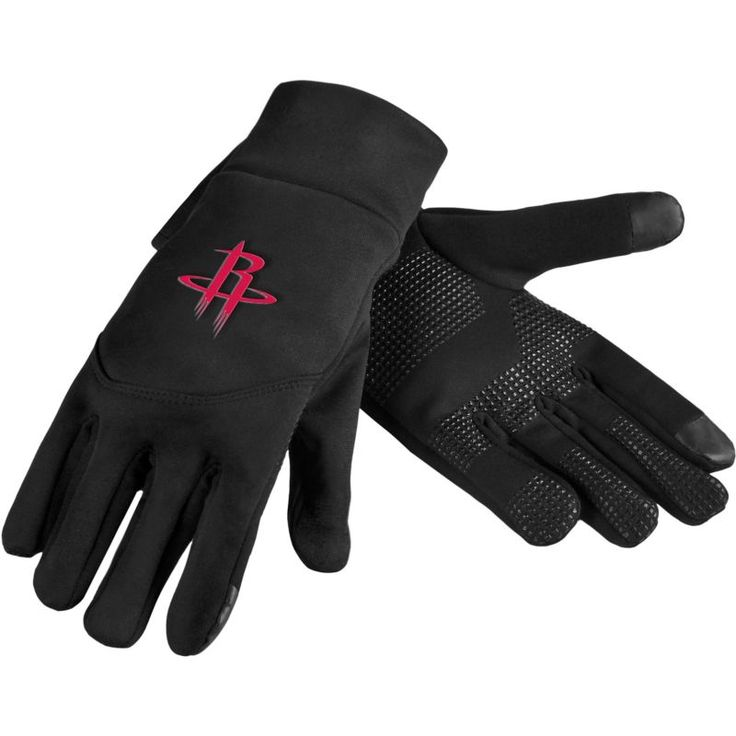 Forever Collectibles Houston Rockets Texting Gloves, Team