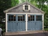 Outswing Carriage Garage Doors - traditional - garage doors - seattle - by Real Carriage Door Company