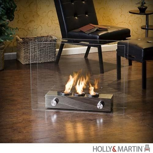Holly and Martin Hudson Portable Indoor_Outdoor Gel Fireplace -  HM-37-130-035