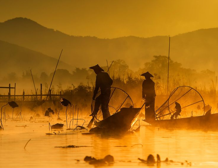 fishing @ inle lake (2) by hamni juni on 500px