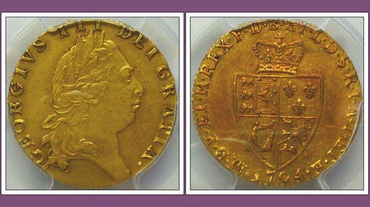 RARE Great Britain Gold Guinea 1794
