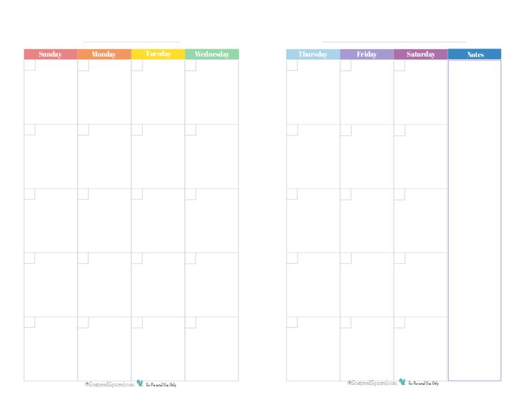 Best  Printable Monthly Calendar Ideas On   Free