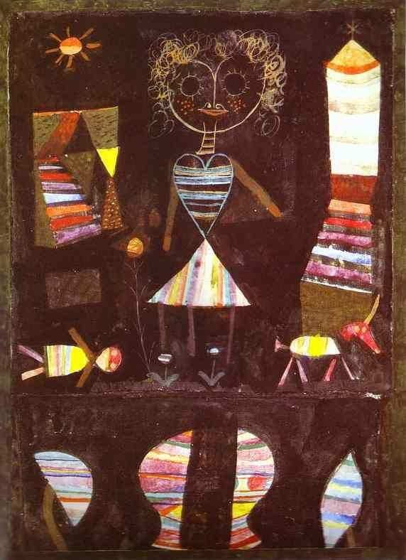 Paul Klee 1923, Puppet Theater