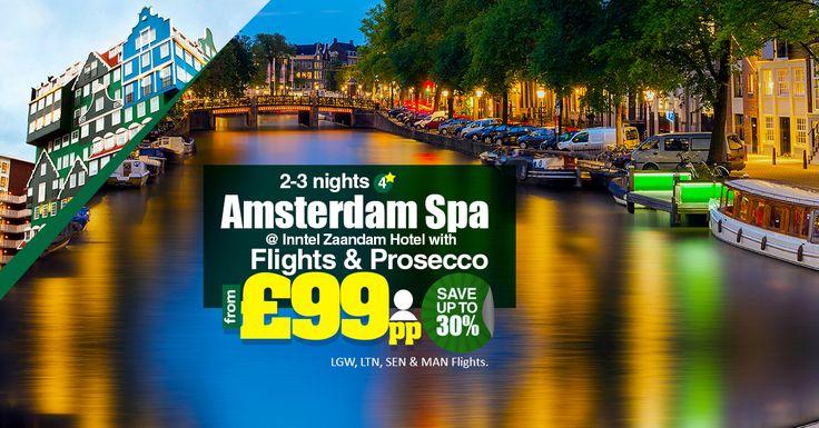 2-3 Nights 4⭐️ Amsterdam Spa @ Inntel Zaandam Hotel with Flights & Prosecco From - £99 pp🚹 - Save up to 30%  |   LGW, SEN & MAN Flights.  |    ☎ Contact us: 0203 515 9024  |   📱 WhatsApp us: 0786 002 6636  |   💻 Book now: https://www.tourcenter.uk/  |    #tourcenteruk #tours #touroffers #holiday #holidayoffers #travel #whatsapp #spa #amsterdamspa #inntelzaandamhotel