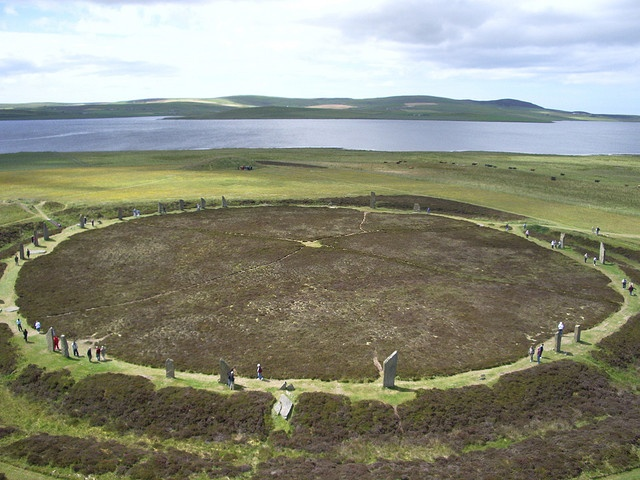 Ring of Brodgar, Orkney Islands Scotland: Orkney Islands, Stones Circles, Things Scottish, Heart Scotland, Stands Stones, Ancient Sacred Places, Places I D, Islands Scotland, Archaeology Anthropology