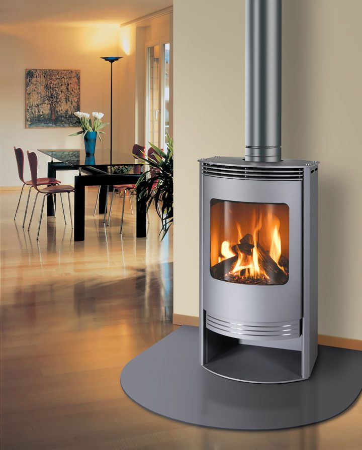 Gas Fireplace gas fireplace freestanding : 26 best Standing Gas Stoves images on Pinterest