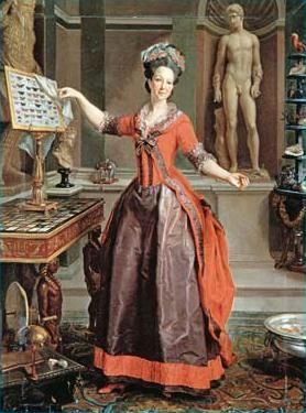 Ritratto di Margherita Sparapani Gentili Boccapadule, Laurent Pecheux, 1777