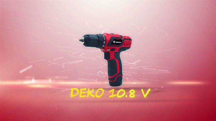 #DEKO 10.8 V Бытовая Аккумуляторная #Дрель. Литий-Ионный аккумулятор электрическая дрель