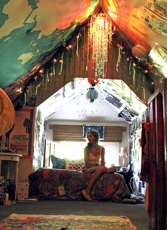 my attic room thewellnesswonderlandcom - Indie Bedroom Designs