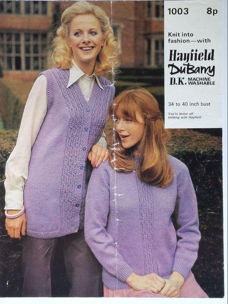 309 best Vintage knitting patterns images on Pinterest