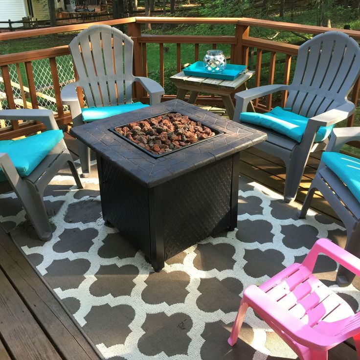 Patio Decoration Using Target Outdoor Rugs: Adirondack Chairs And Firepits With Target Outdoor Rugs Also Wood Decks And Deck Railings With Bed Bath And Beyond Rugs Plus Lawn And 5×8 Area Rugs With Patio Decor And Exterior Design
