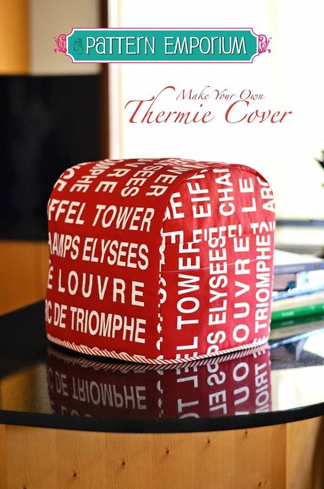 Available in the mid May issue of One Thumble E-zine. Thermie Cover PDF Pattern