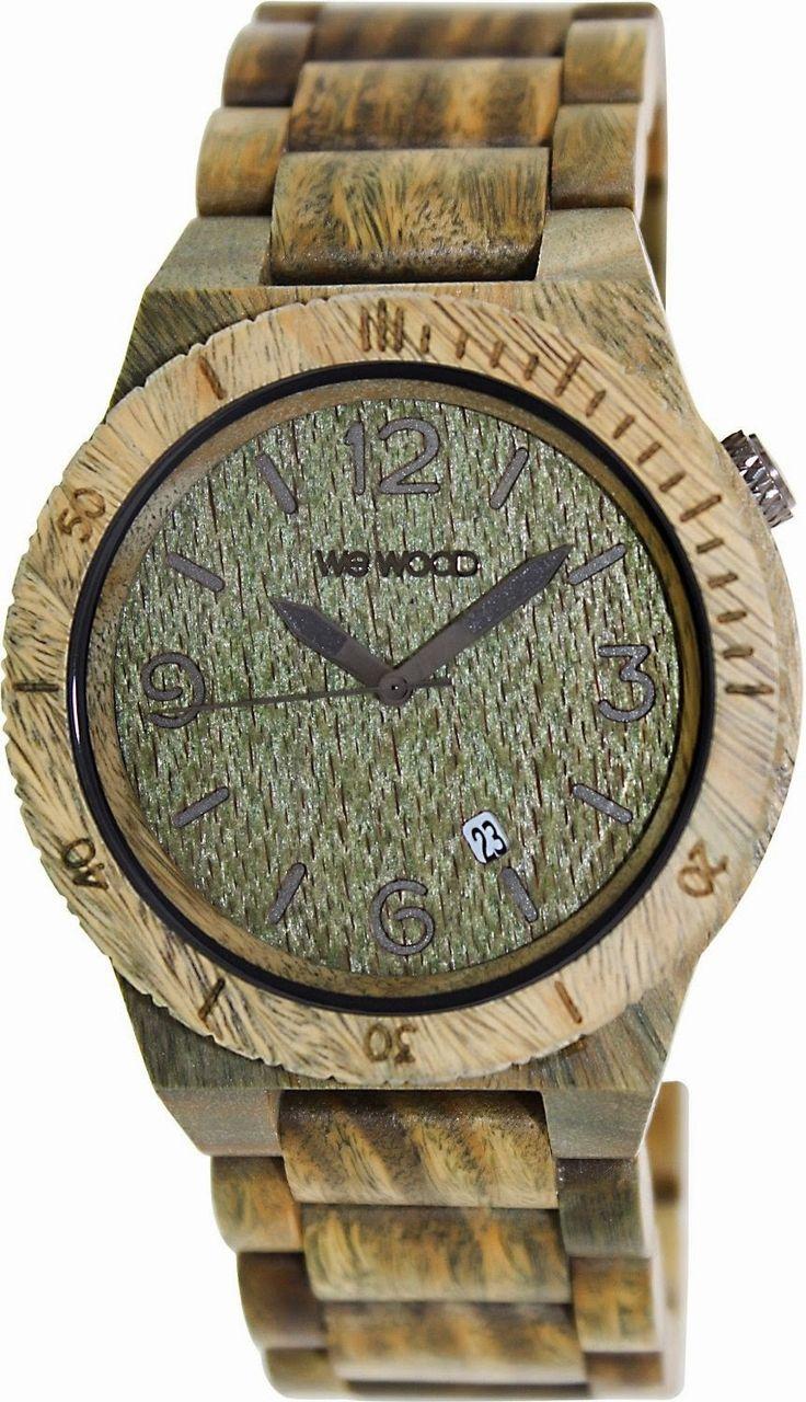 WeWOOD Alpha Watch $119.99 http://roksmu.blogspot.com/2014/07/army-watch.html
