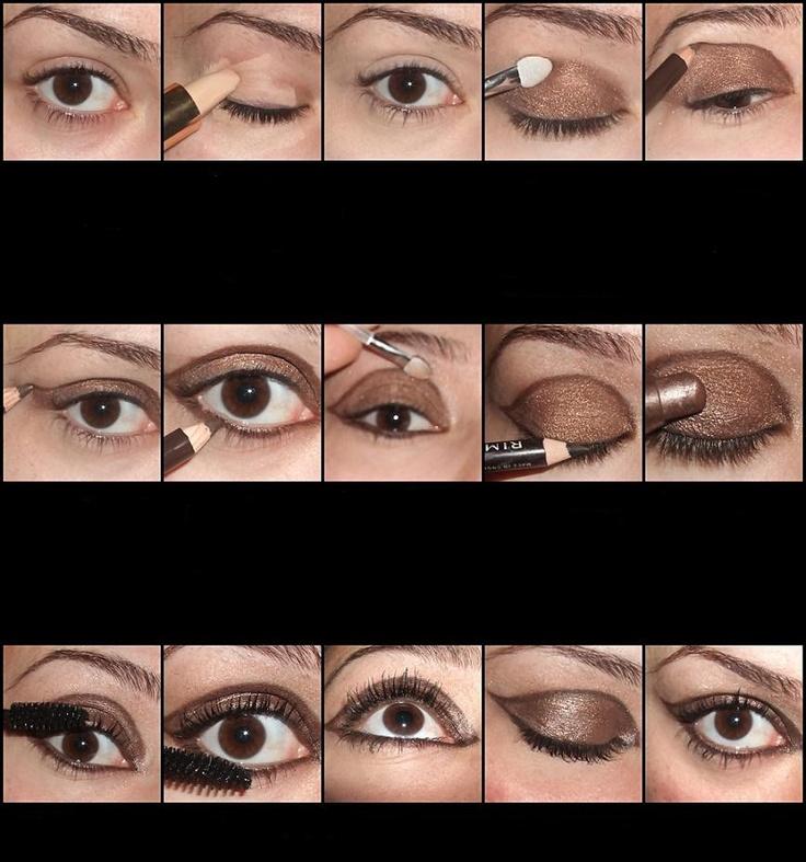 Love 70s eye make-up!