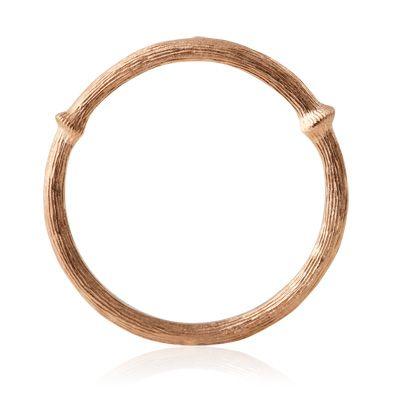 Nature, ring, nr. 1, 18K rosaguld, ringe fra Ole Lynggaard | Dirks Design