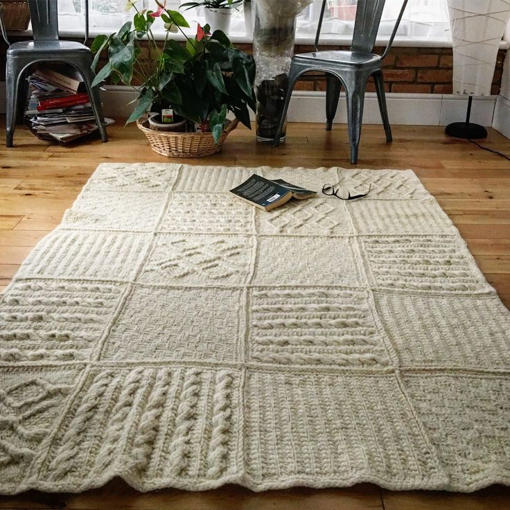 Fancy making your own blanket? You can find white , grey and melange 100% organic wool yarn in my etsy shop. White is suitable for dyeing if you want to create your own shades. Visit my LooseLoop shop @Etsy : https://www.etsy.com/uk/shop/Knitatelier