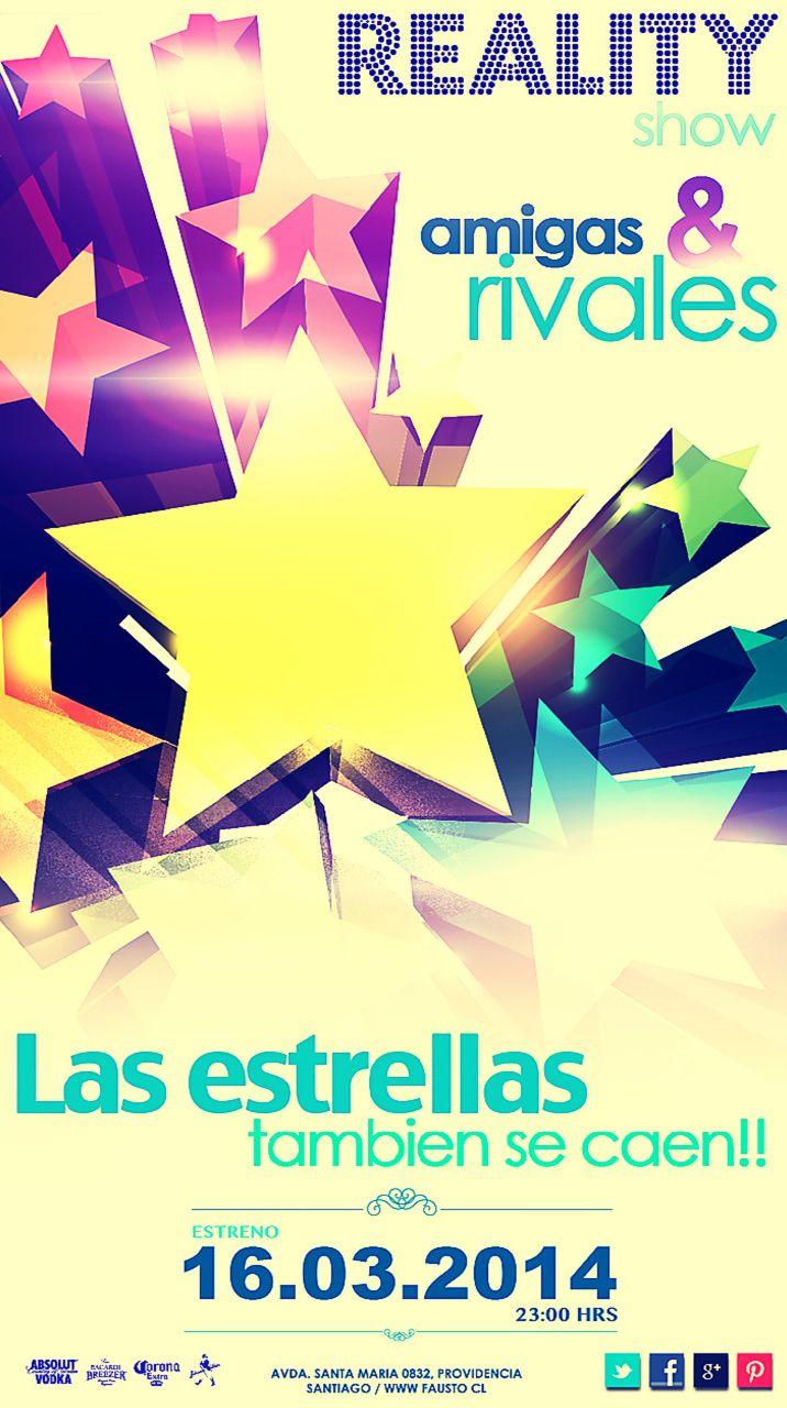 """""""AMIGAS Y RIVALES"""" MARZO 2014"""