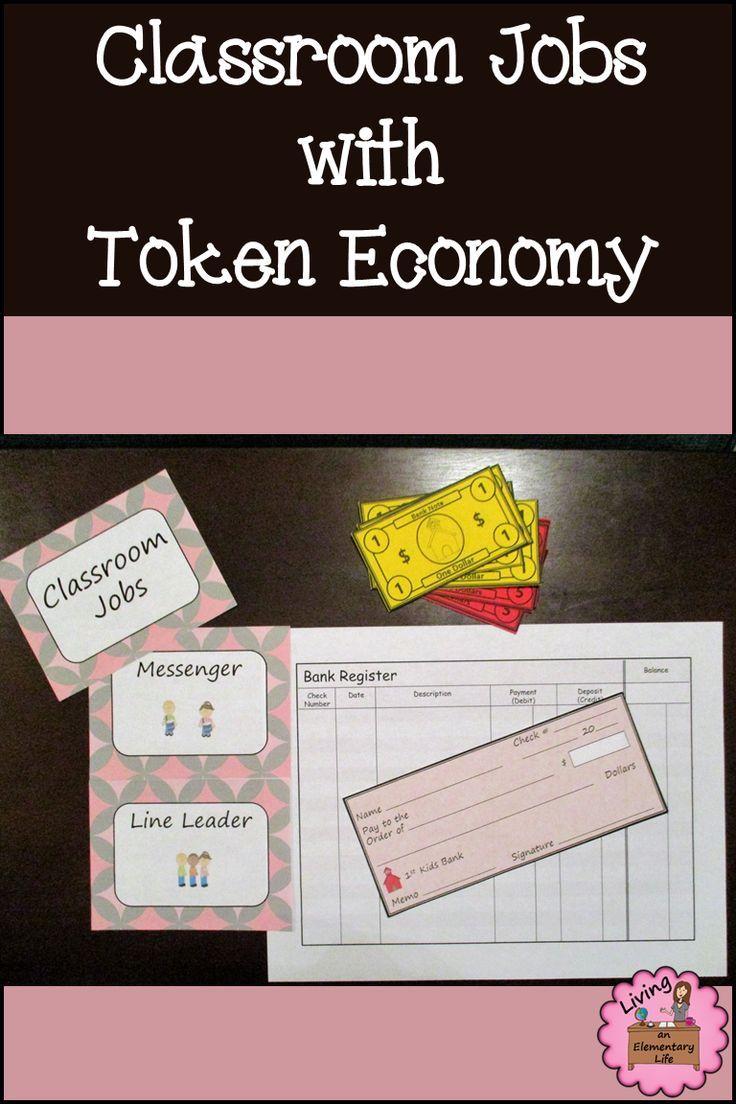 Classroom Jobs and Token Economy