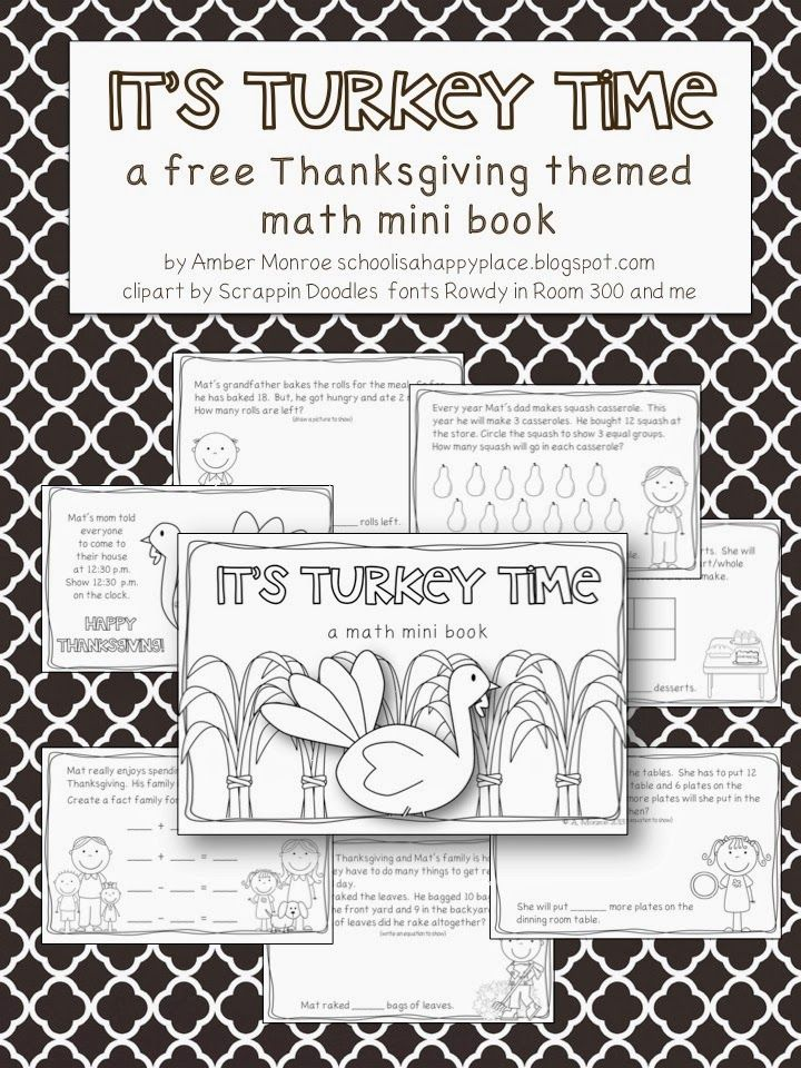 206 best FREE Thanksgiving Printables {Educational} images on ...