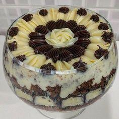 Receita de Bolo de chocolate com o mais delicioso e cremoso recheio de coco - GRANIG RECEITAS