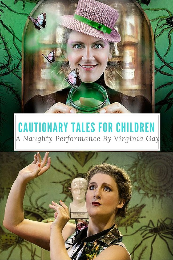 Starring the incredibly talented Virginia Gay (from TV's Winners & Losers and All Saints), the Cautionary Tales for Children promised to be entertaining, but in what capacity? Would we laugh? Would the kids cringe? Turns out the performance managed to provide a suite of emotions across the length it ran.