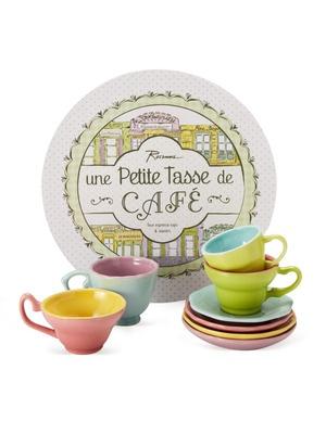 une petite tasse de cafe espresso set set of 4 by. Black Bedroom Furniture Sets. Home Design Ideas