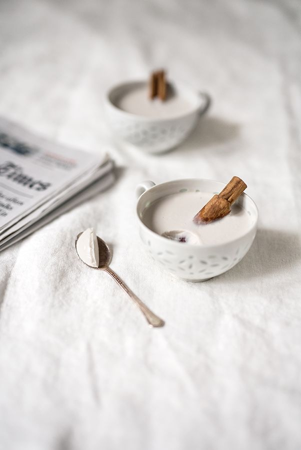 vanilla coconut pudding