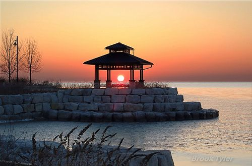 Sunset, Port Credit, Ontario, Canada