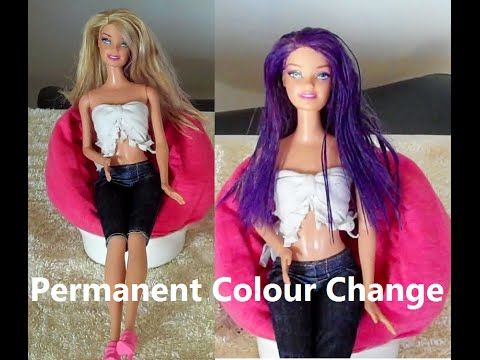 How to Colour Your Dolls Hair permanently http://designsscr.blogspot.com.au/ Hi guys I hope you like this video. Give it a thumbs up if you do. Thank you to ...