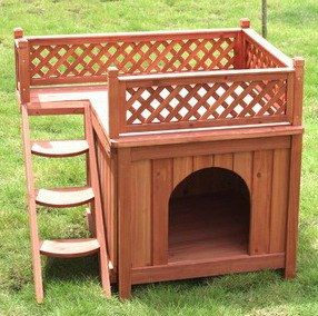 Wood Dog House Plans   How To build a Easy DIY Woodworking Projects   Wood Working Plans