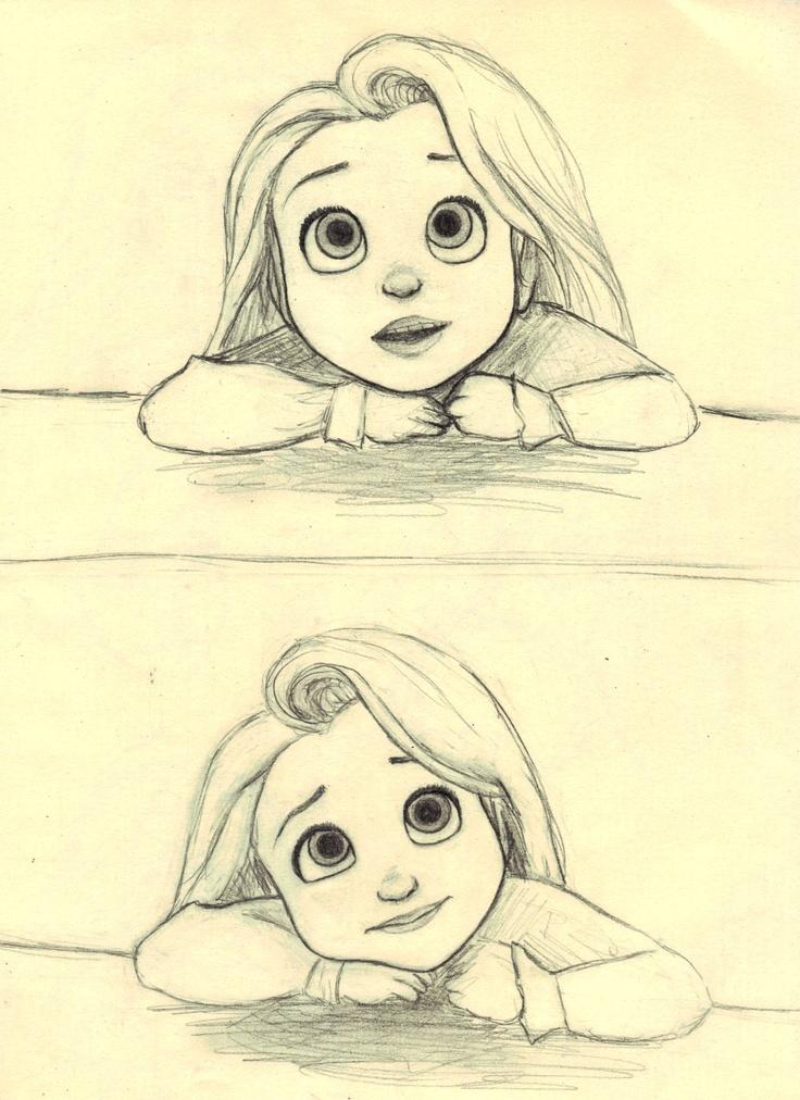 Little Rapunzel (c) Glen Keane & Disney                              …