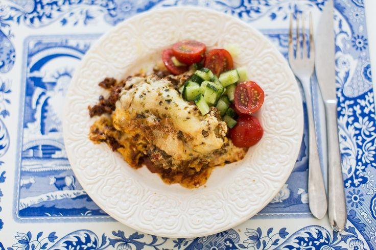 Min goda Lasagne (LCHF, Glutenfri)